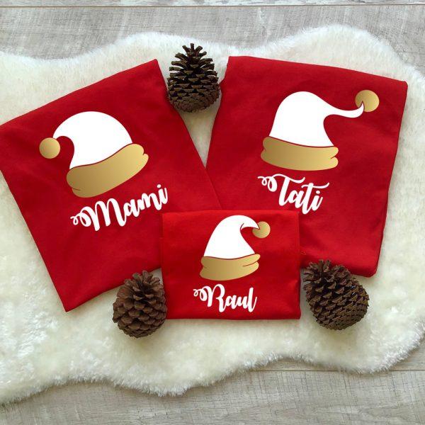 Tricouri cu Moşu', Santa's Hat, mânecă lungă