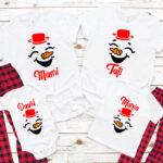 Tricouri Happy Snowman