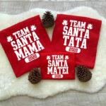 Set de tricouri Team Santa