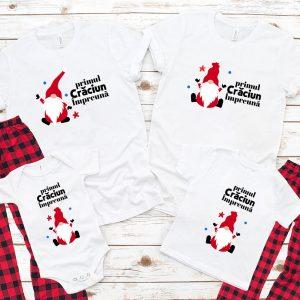 Tricouri cu Pitici, primul Crăciun împreună