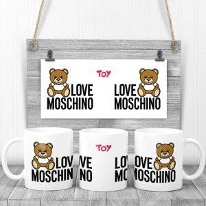 Cană Love Moschino. Cană magică personalizată cu Love Moschino.