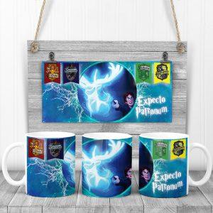 Cană Harry Potter - Expecto Patronum, personalizată