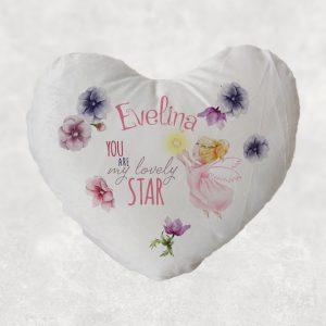 Pernă Îngeraş personalizată, You Are My Lovely Star