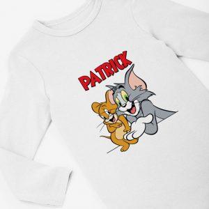 Body Tom şi Jerry personalizat cu nume
