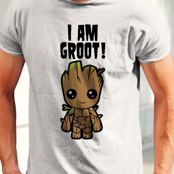 Tricou Guardians of the Galaxy I Am Groot