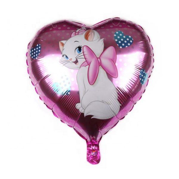 Baloane Marie, formă de inimă
