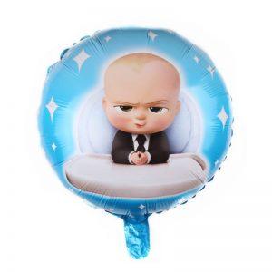 Baloane Boss Baby, 45cm, folie de aluminiu