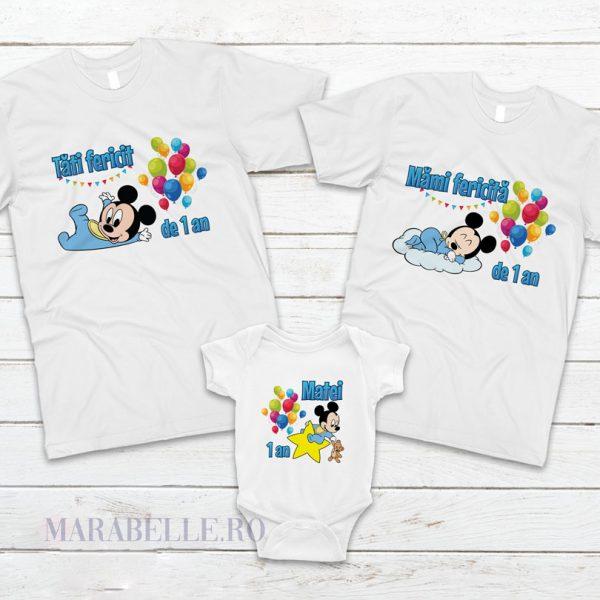 Tricouri cu Mickey Mouse Baby